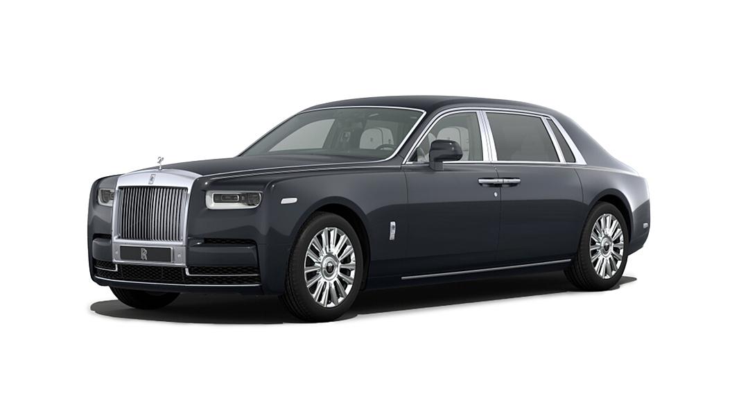 Rolls-Royce  Phantom VIII Darkest Tungsten Colour