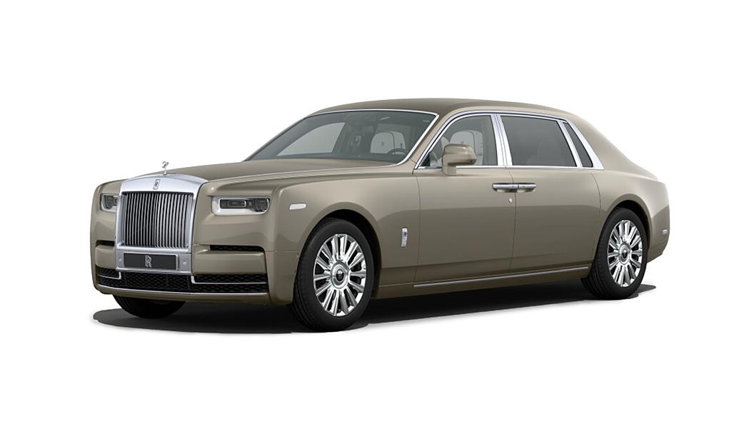 Rolls-Royce  Phantom VIII Petra Gold Colour