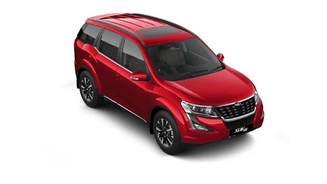 Mahindra  XUV500 Crimson Red Colour