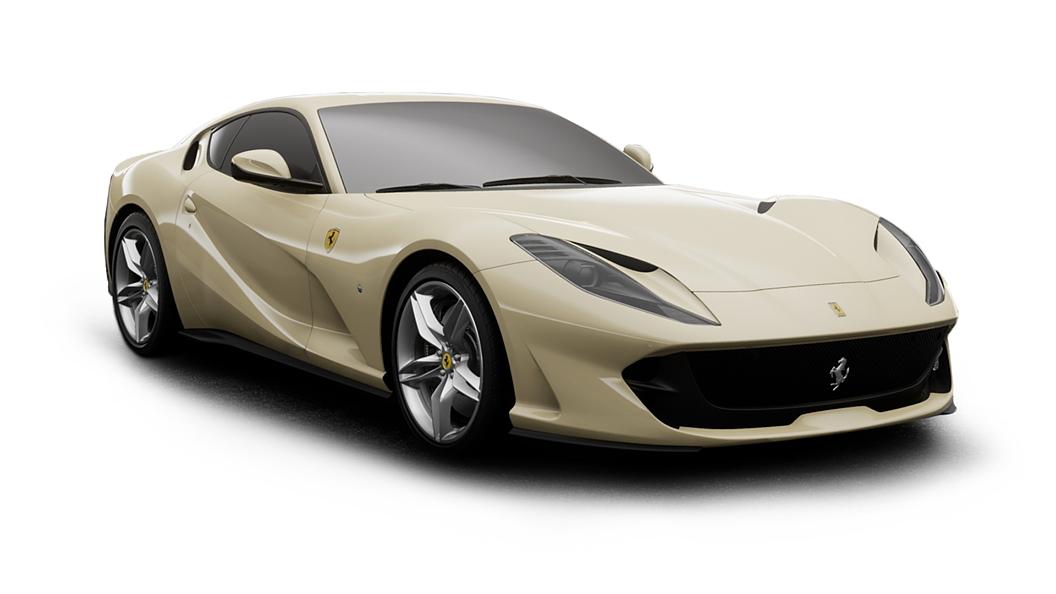 Ferrari  812 Avorio Colour