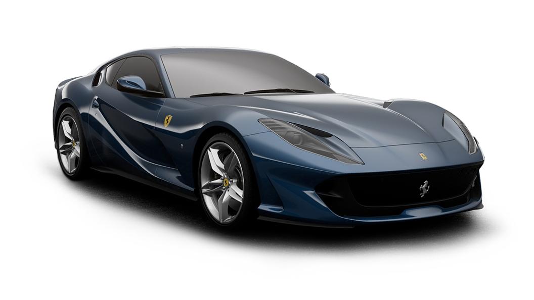 Ferrari  812 Blu Abu Dhabi Colour