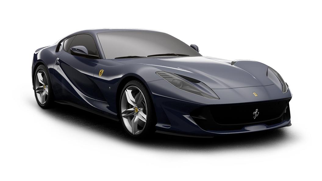 Ferrari  812 Blu Scozia Colour