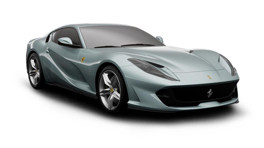 Ferrari  812 Grigio Alloy Colour