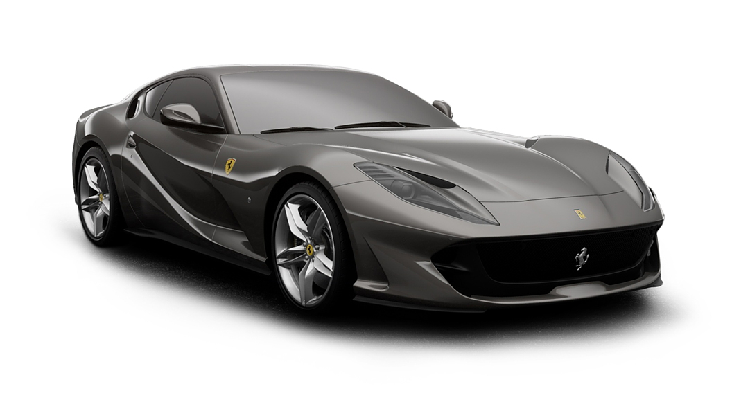 Ferrari  812 Grigio Ferro Colour