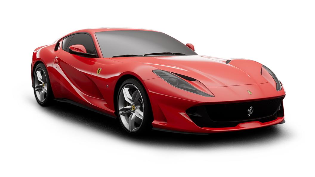 Ferrari  812 Rosso Corsa Colour