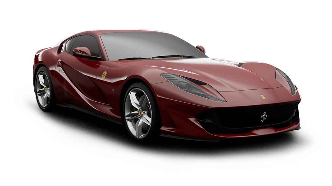 Ferrari  812 Rosso Mugello Colour