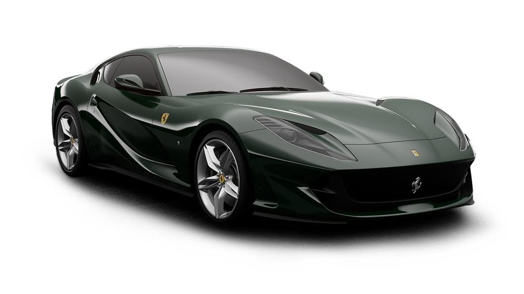 Ferrari  812 Verde British Colour