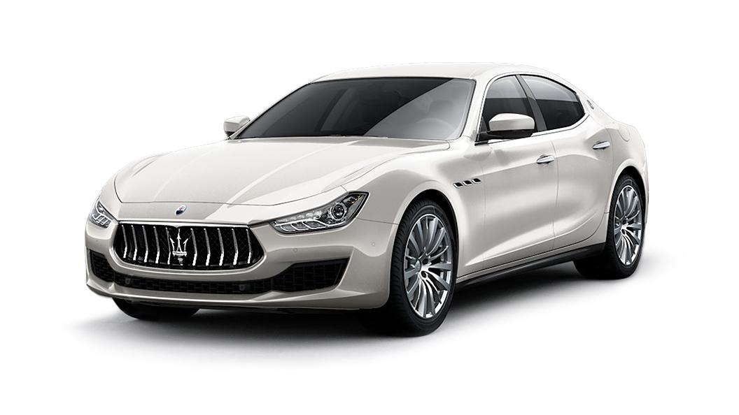 Maserati  Ghibli Bianco Alpi Colour