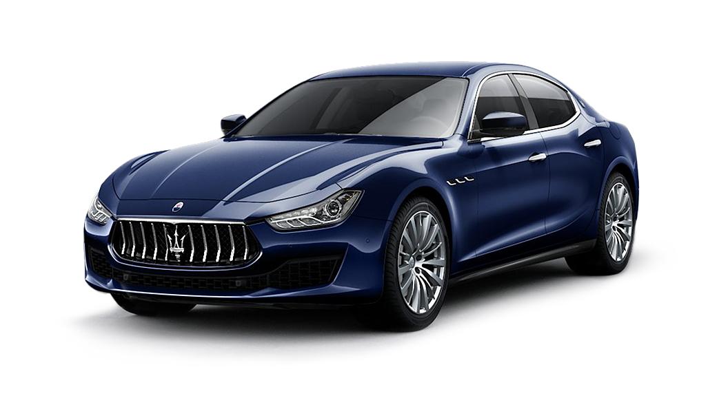 Maserati  Ghibli Blu Passione Colour