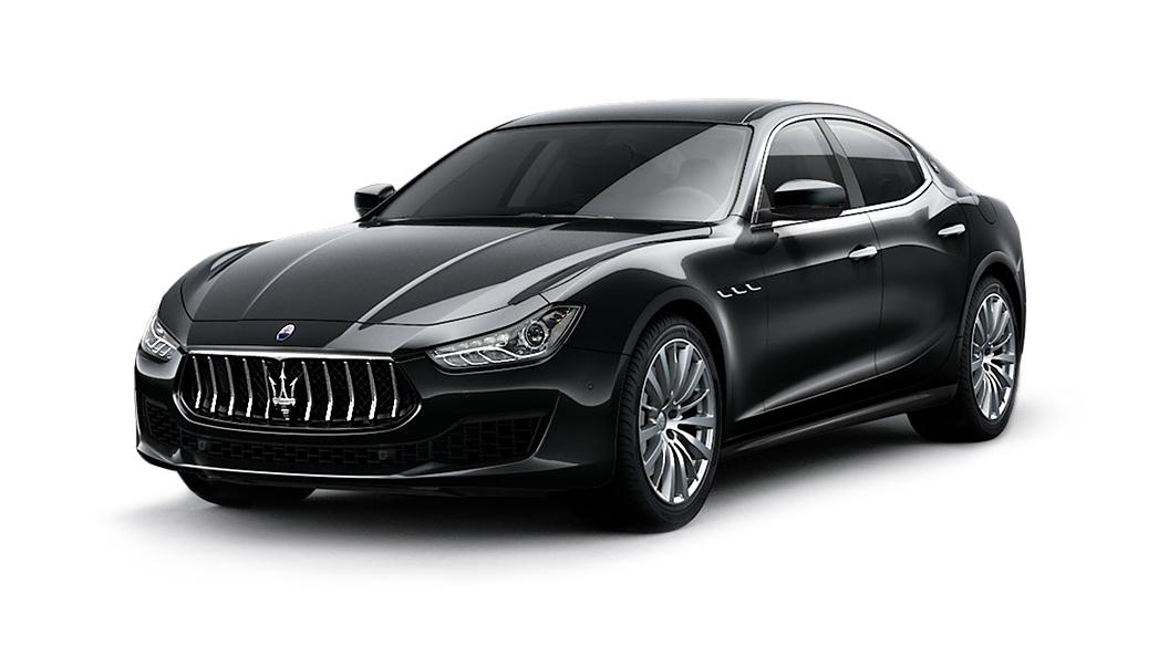 Maserati  Ghibli Nero Ribelle Colour