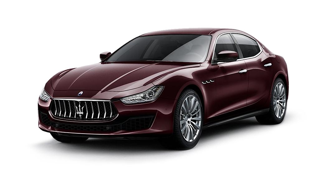 Maserati  Ghibli Rosso Folgore Colour