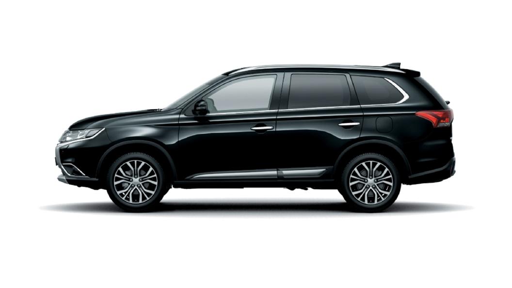 Mitsubishi  Outlander Black Pearl Colour