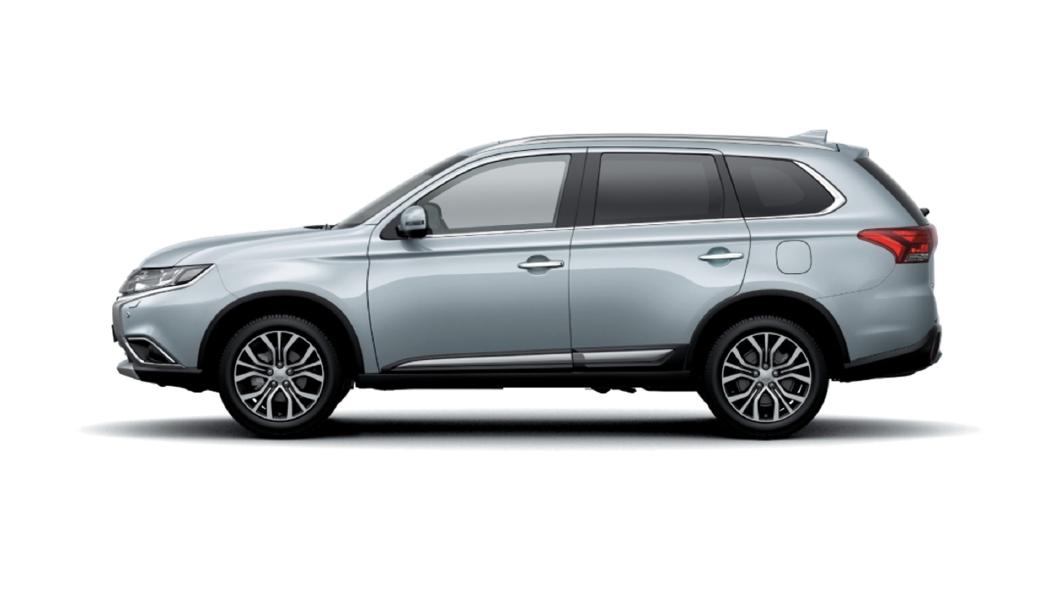 Mitsubishi  Outlander Cool Silver Colour