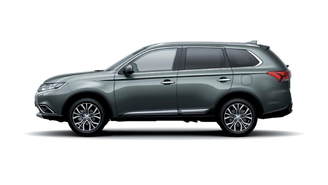 Mitsubishi  Outlander Titanium Gray Colour