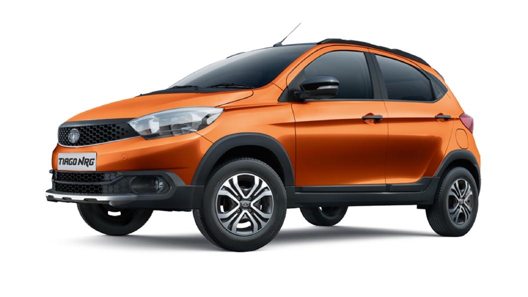 Tata  Tiago NRG Canyon Orange Colour