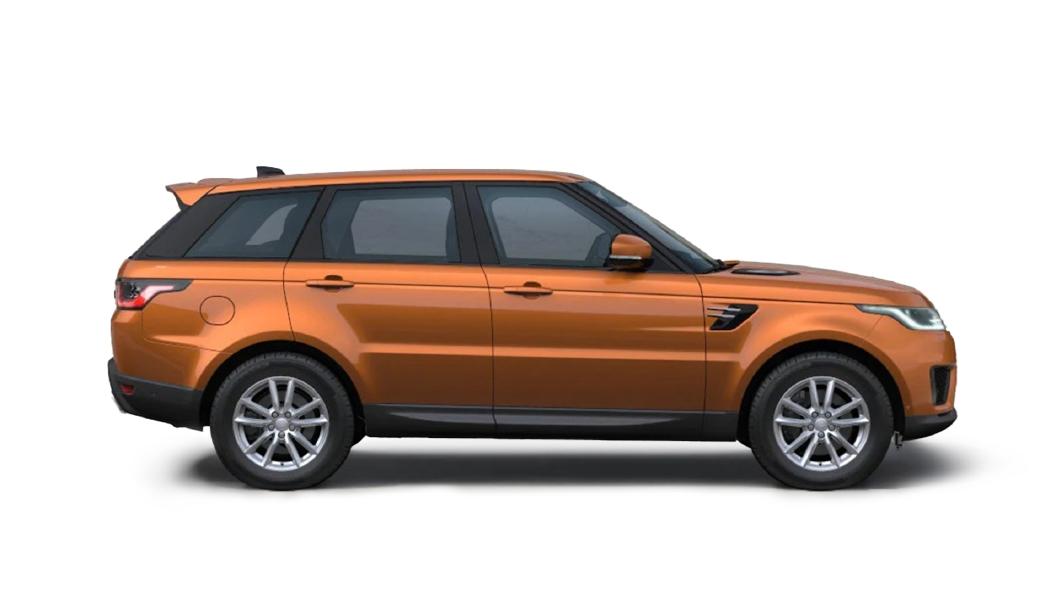 Land Rover  Range Rover Sport Madagascar Orange Metallic Colour