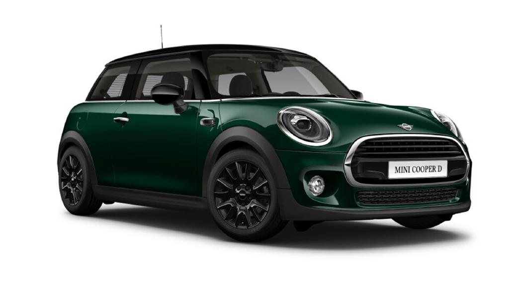 Mini  Cooper British Racing Green Colour