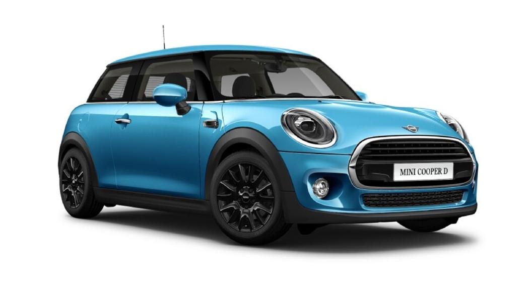 Mini  Cooper Electric Blue Colour