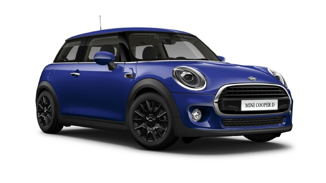 Mini  Cooper Starlight Blue Colour