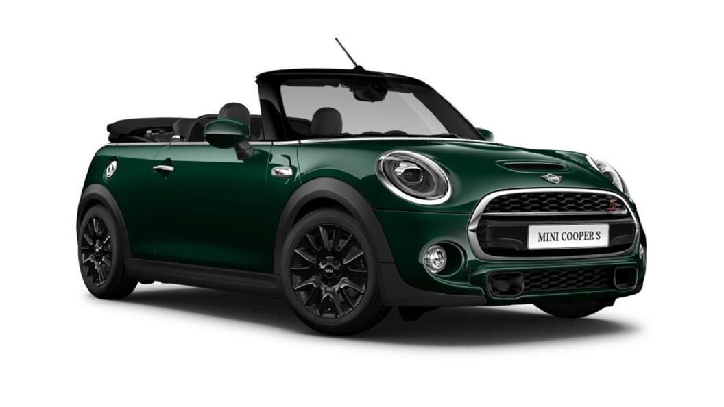 Mini  Cooper Convertible British Racing Green Metallic Colour