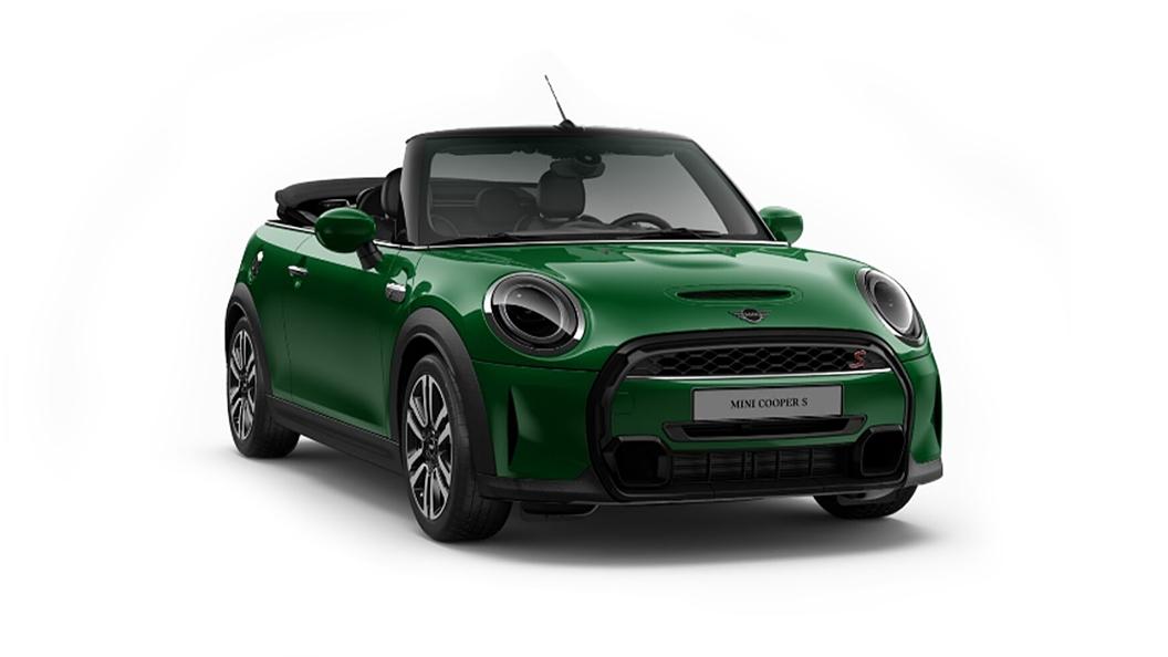 Mini  Cooper Convertible British Raving Green IV Metallic Colour