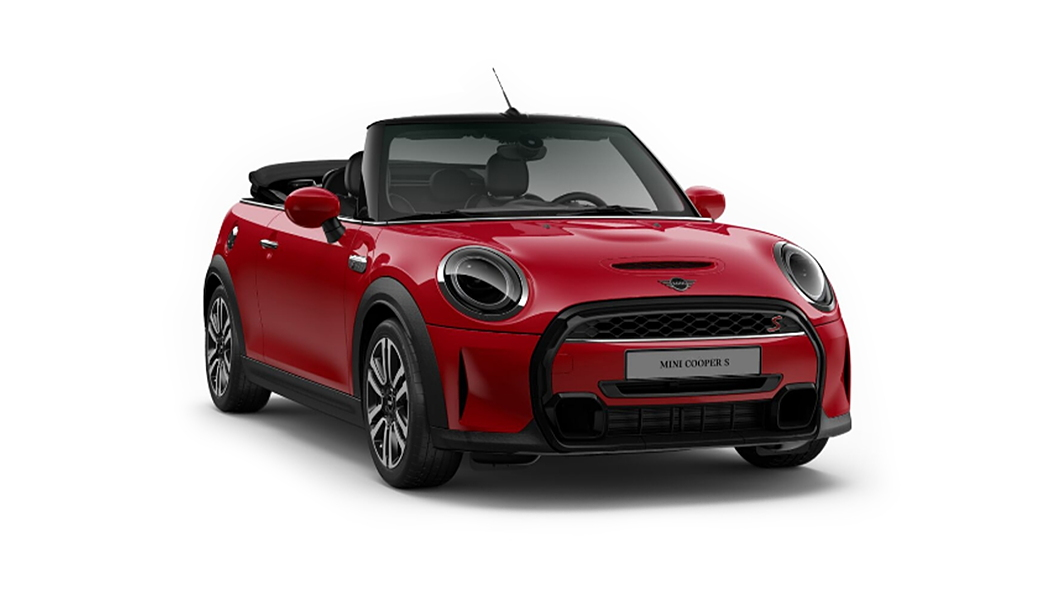 Mini  Cooper Convertible Chilli Red Colour