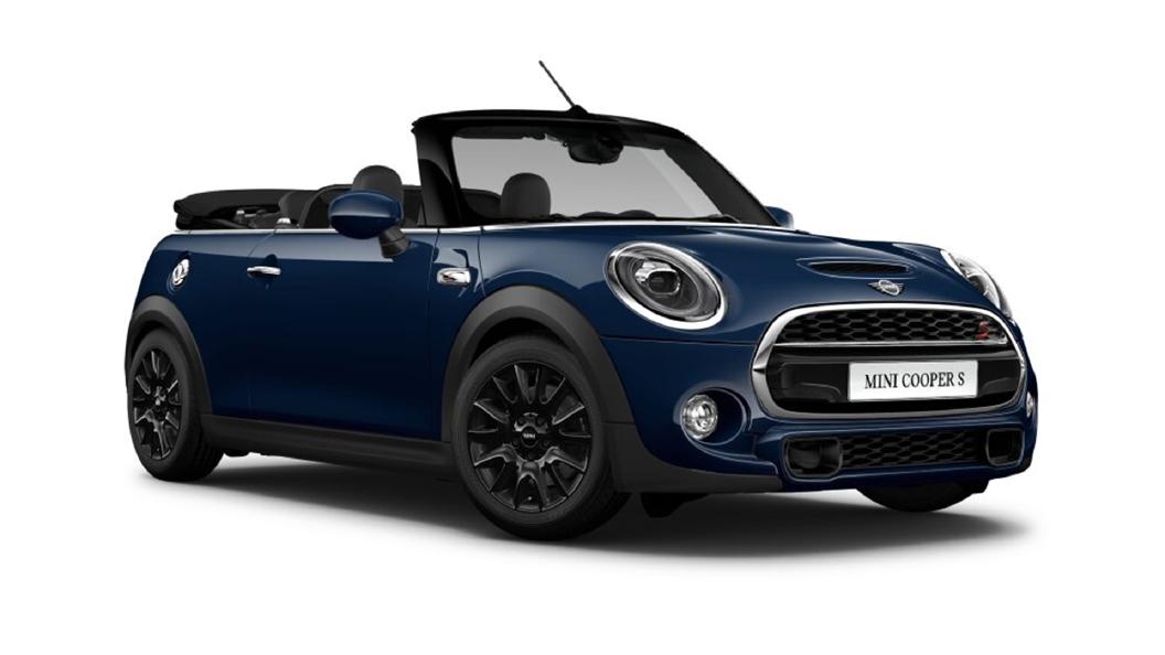 Mini  Cooper Convertible Lapisluxury Blue Colour