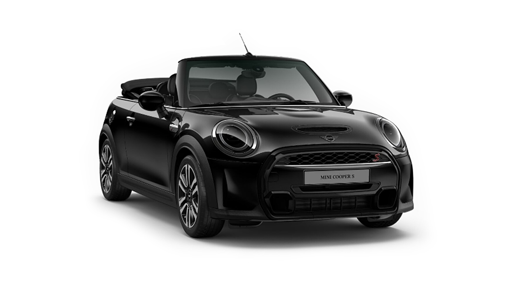 Mini  Cooper Convertible Midnight Black Metallic Colour