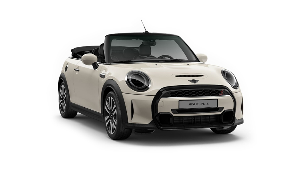 Mini  Cooper Convertible Pepper White Colour
