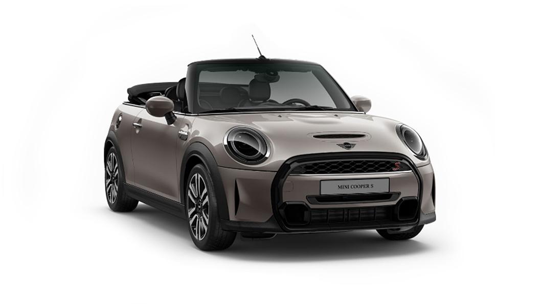 Mini  Cooper Convertible Rooftop Grey Metallic Colour