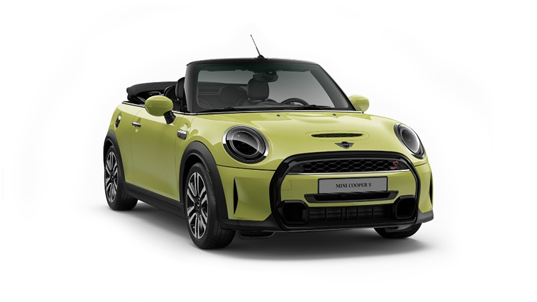 Mini  Cooper Convertible Zesty Yellow Metallic Colour