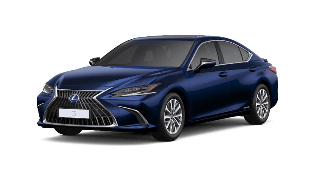 Lexus  ES Deep Blue Mica Colour