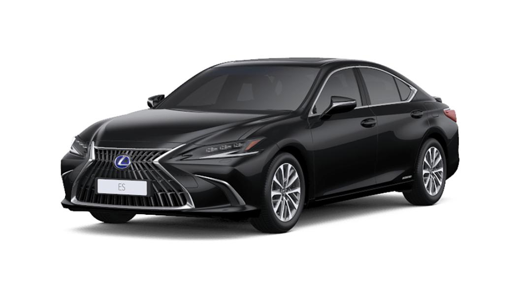 Lexus  ES Graphite Black Glass Flake Colour