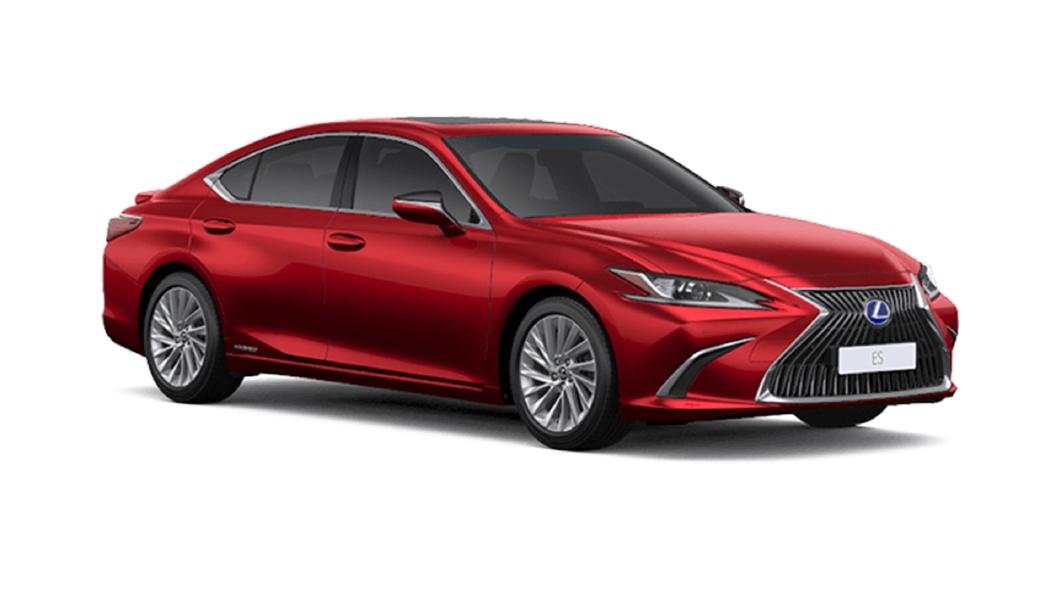 Lexus  ES Red Mica Crystal Shine Colour