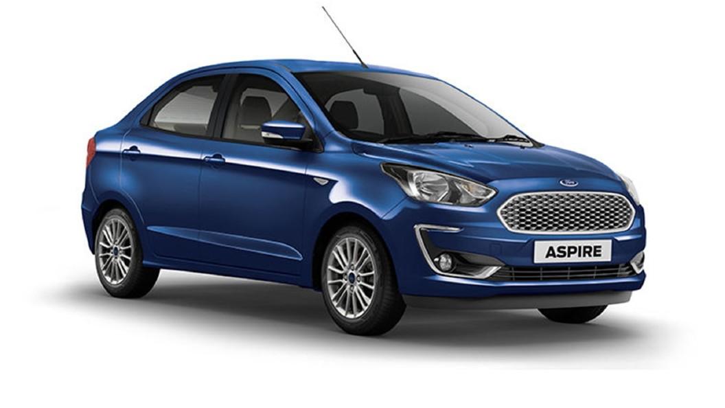 Ford  Aspire Deep Impact Blue Colour