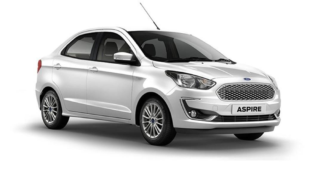 Ford  Aspire Oxford White Colour