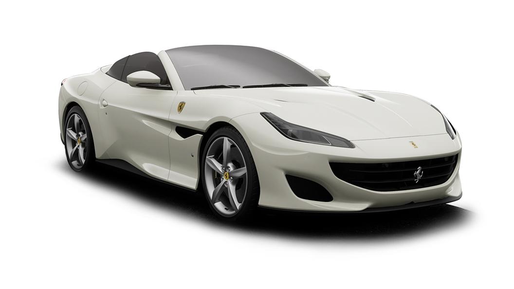 Ferrari  Portofino Bianco Avus Colour