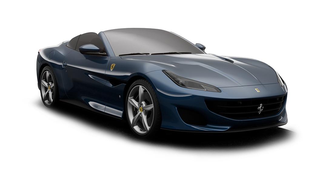 Ferrari  Portofino Blu Abu Dhabi Colour
