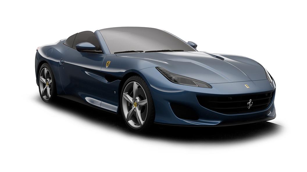 Ferrari  Portofino Blu Mirabeau Colour