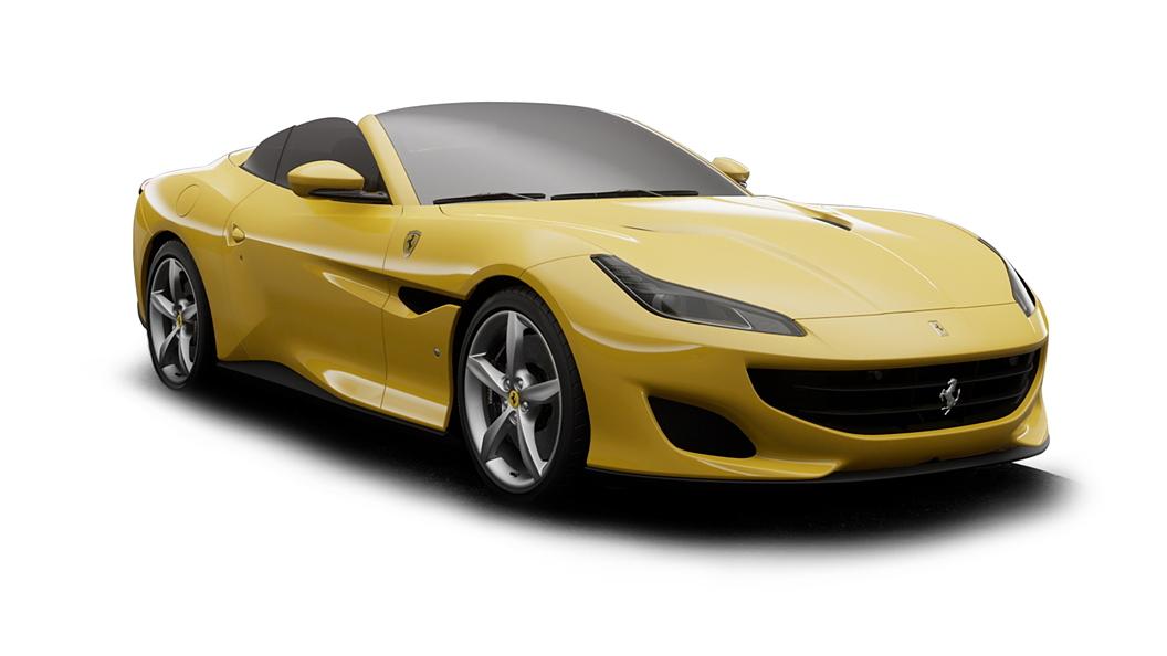 Ferrari  Portofino Giallo Modena Colour
