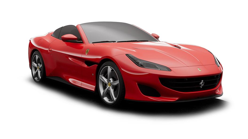 Ferrari  Portofino Rosso Corsa Colour