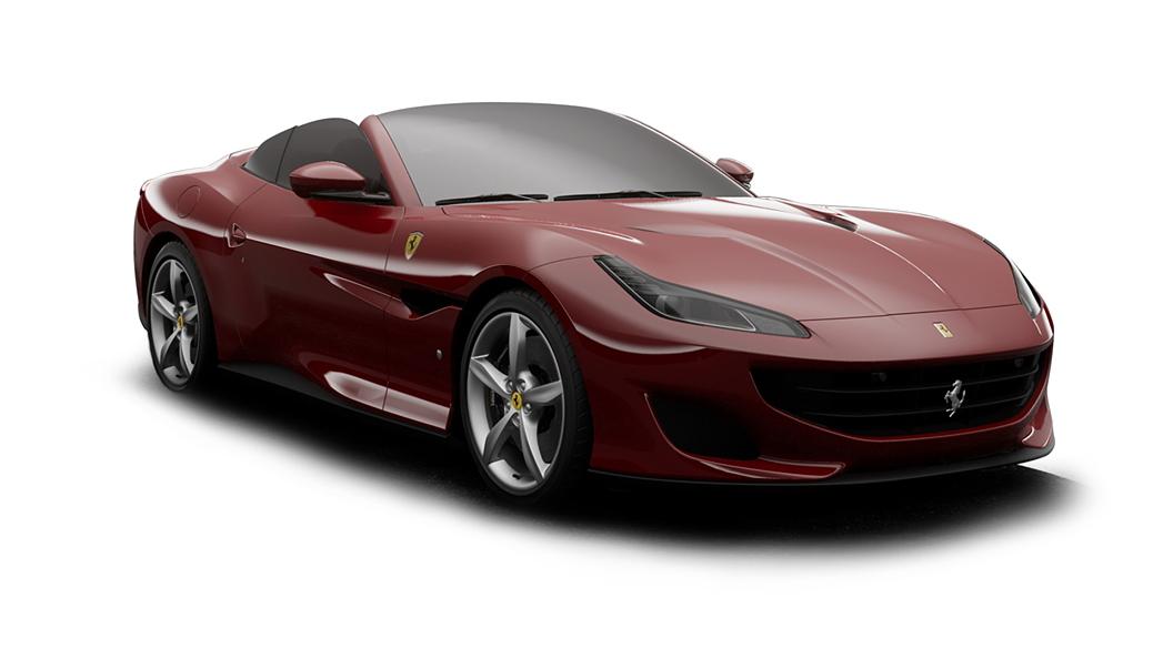 Ferrari  Portofino Rosso Mugello Colour