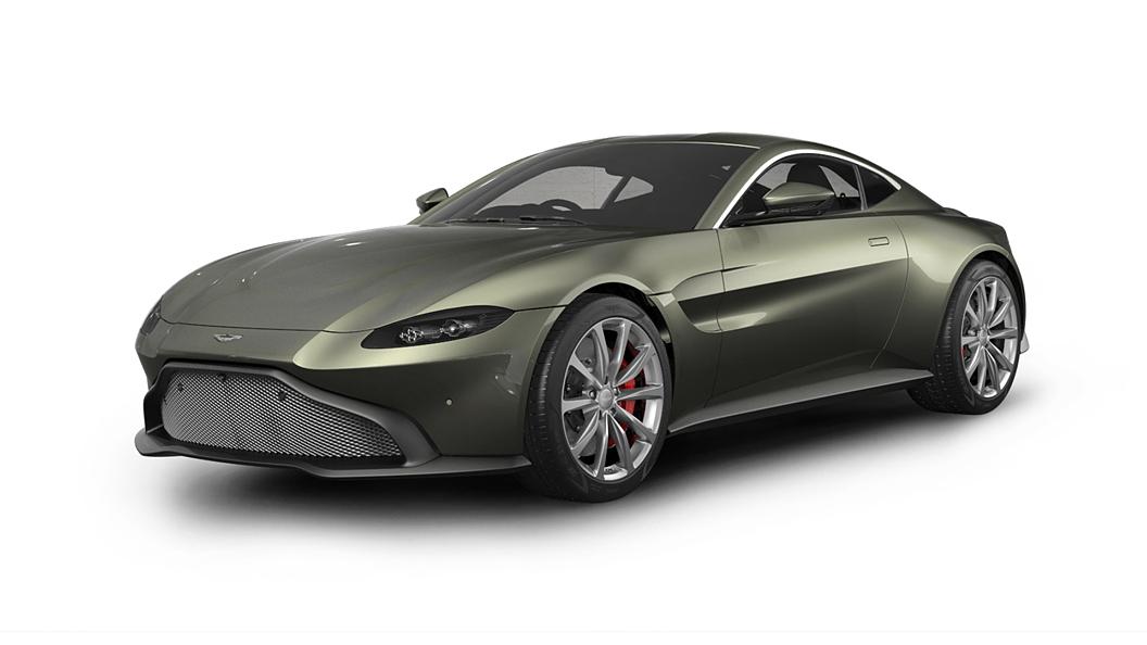 Aston Martin  Vantage Arden Green Colour