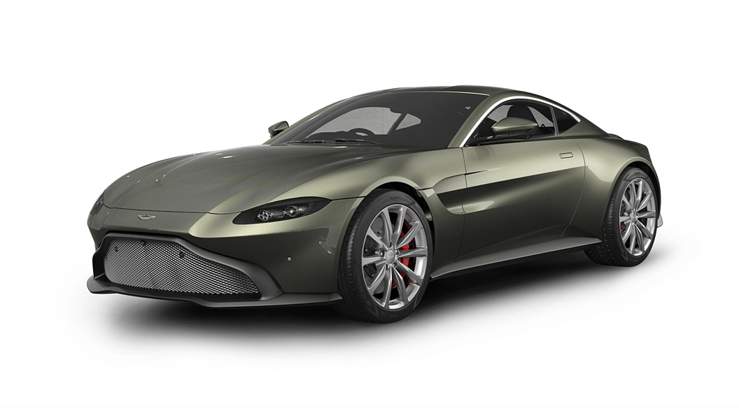 Aston Martin  Vantage Arden Green Colour
