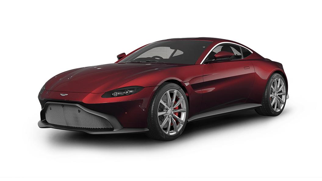 Aston Martin  Vantage Divine Red Colour