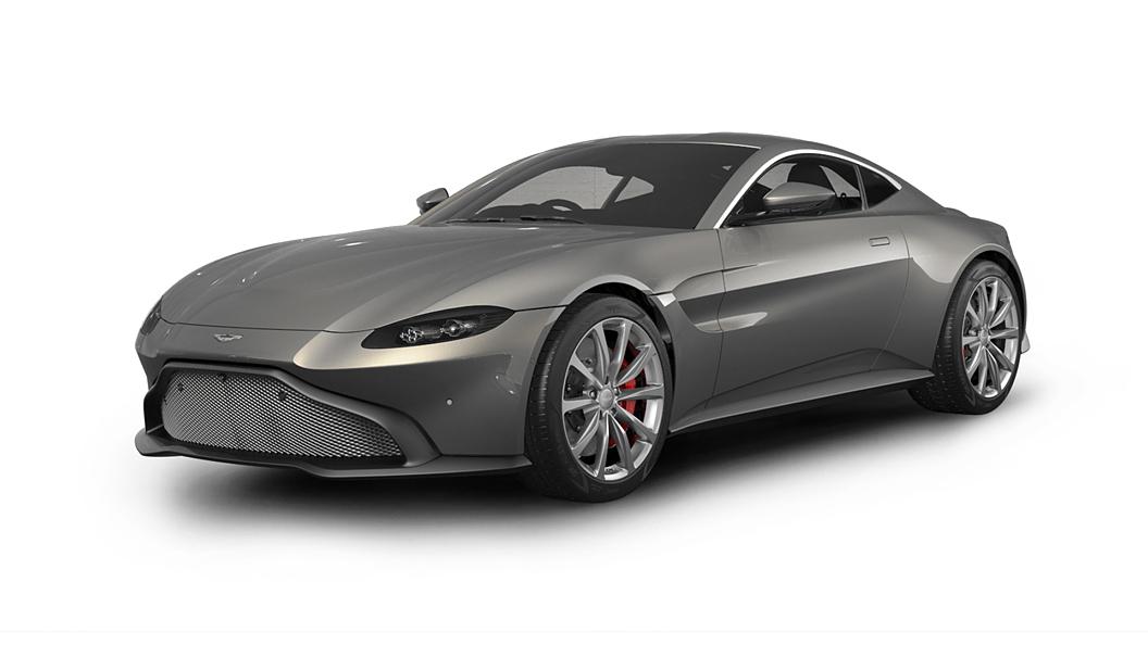 Aston Martin  Vantage Hammerhead Silver Colour