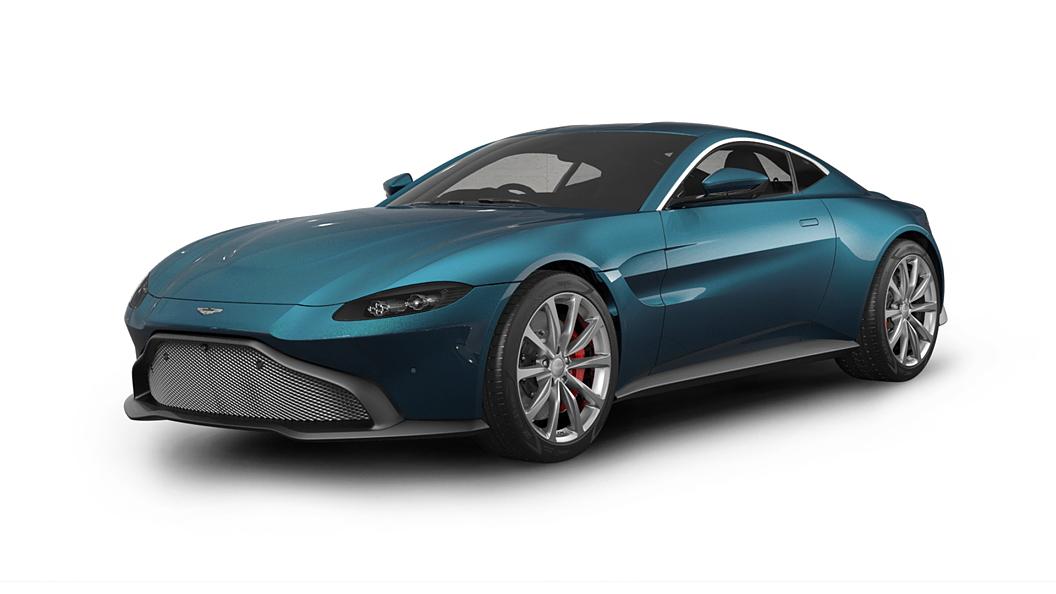 Aston Martin  Vantage Intense Blue Colour