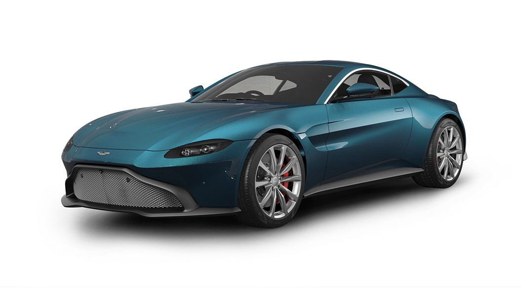 Aston Martin  Vantage Intense Blue Colour
