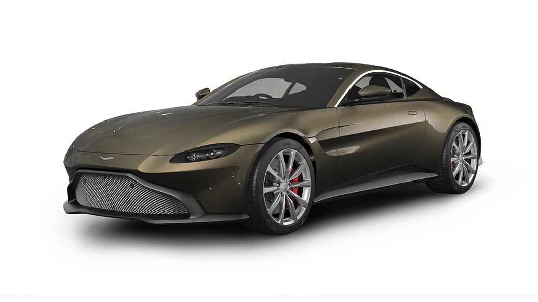 Aston Martin  V8 Vantage Kopi Bronze Colour
