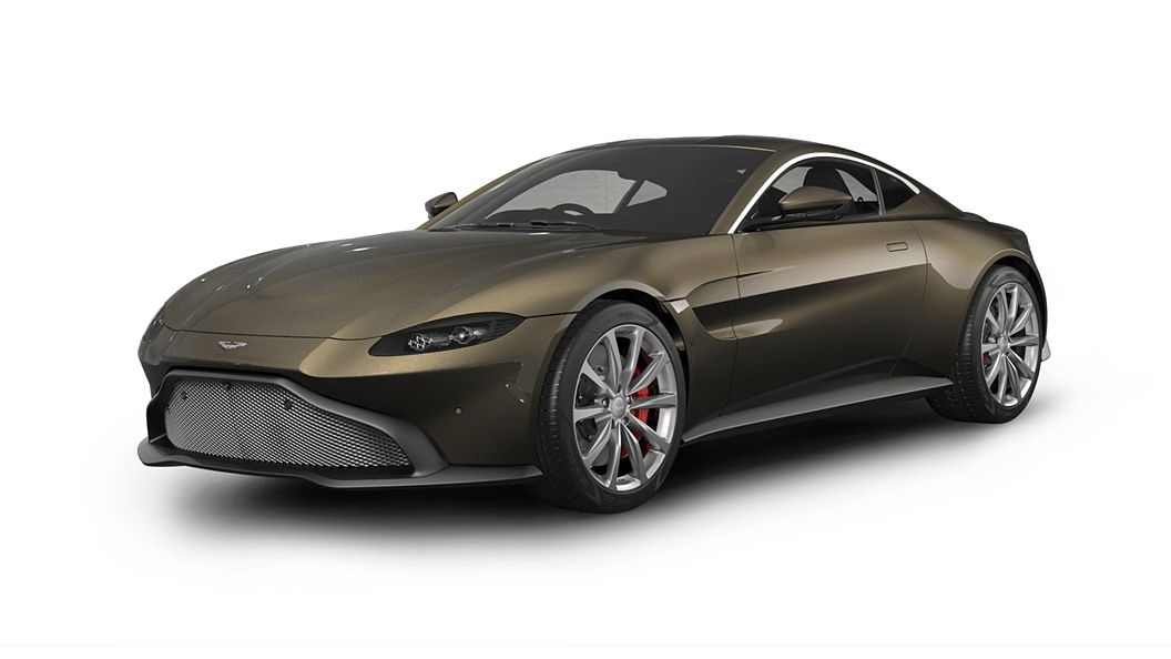 Aston Martin  Vantage Kopi Bronze Colour